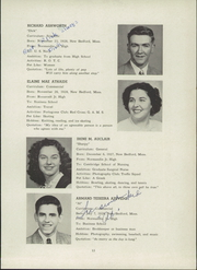 Page 17, 1946 Edition, New Bedford High School - Crimson Log Yearbook (New Bedford, MA) online yearbook collection