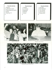 Page 16, 1984 Edition, New Bedford High School - Crimson Log Yearbook (New Bedford, MA) online yearbook collection