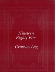 1985 Edition, New Bedford High School - Crimson Log Yearbook (New Bedford, MA)