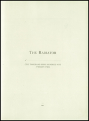 Page 11, 1922 Edition, Somerville High School - Radiator Yearbook (Somerville, MA) online yearbook collection