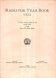 Page 7, 1933 Edition, Somerville High School - Radiator Yearbook (Somerville, MA) online yearbook collection