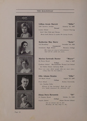 Page 16, 1926 Edition, Malden High School - Maldonian Yearbook (Malden, MA) online yearbook collection