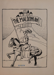 Page 5, 1926 Edition, Malden High School - Maldonian Yearbook (Malden, MA) online yearbook collection