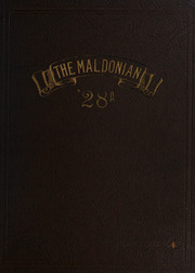 Malden High School - Maldonian Yearbook (Malden, MA) online yearbook collection, 1928 Edition, Page 1