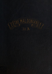 Malden High School - Maldonian Yearbook (Malden, MA) online yearbook collection, 1931 Edition, Page 1