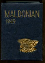1949 Edition, Malden High School - Maldonian Yearbook (Malden, MA)