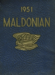 1951 Edition, Malden High School - Maldonian Yearbook (Malden, MA)
