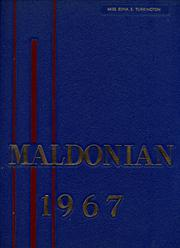 1967 Edition, Malden High School - Maldonian Yearbook (Malden, MA)