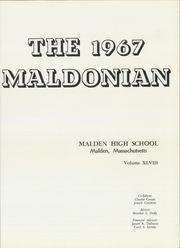 Page 5, 1967 Edition, Malden High School - Maldonian Yearbook (Malden, MA) online yearbook collection