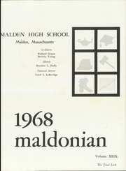 Page 5, 1968 Edition, Malden High School - Maldonian Yearbook (Malden, MA) online yearbook collection