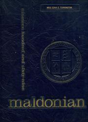 1969 Edition, Malden High School - Maldonian Yearbook (Malden, MA)
