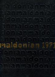 1971 Edition, Malden High School - Maldonian Yearbook (Malden, MA)
