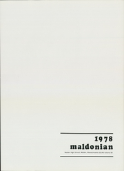 Page 5, 1978 Edition, Malden High School - Maldonian Yearbook (Malden, MA) online yearbook collection