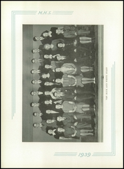 Page 10, 1939 Edition, Medford High School - Blue and White Yearbook (Medford, MA) online yearbook collection