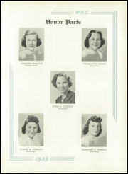 Page 15, 1939 Edition, Medford High School - Blue and White Yearbook (Medford, MA) online yearbook collection