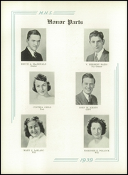 Page 16, 1939 Edition, Medford High School - Blue and White Yearbook (Medford, MA) online yearbook collection