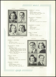 Page 17, 1939 Edition, Medford High School - Blue and White Yearbook (Medford, MA) online yearbook collection