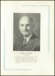 Page 7, 1939 Edition, Medford High School - Blue and White Yearbook (Medford, MA) online yearbook collection
