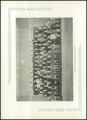 Page 8, 1939 Edition, Medford High School - Blue and White Yearbook (Medford, MA) online yearbook collection
