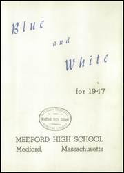 Page 7, 1947 Edition, Medford High School - Blue and White Yearbook (Medford, MA) online yearbook collection