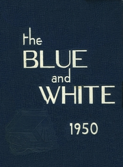 1950 Edition, Medford High School - Blue and White Yearbook (Medford, MA)