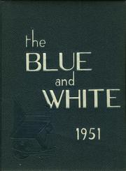 1951 Edition, Medford High School - Blue and White Yearbook (Medford, MA)