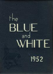 1952 Edition, Medford High School - Blue and White Yearbook (Medford, MA)
