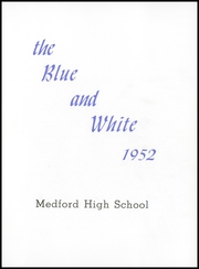 Page 5, 1952 Edition, Medford High School - Blue and White Yearbook (Medford, MA) online yearbook collection