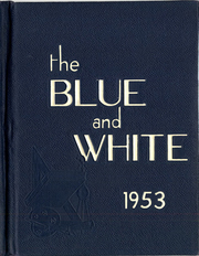 1953 Edition, Medford High School - Blue and White Yearbook (Medford, MA)