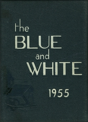 1955 Edition, Medford High School - Blue and White Yearbook (Medford, MA)