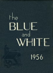 1956 Edition, Medford High School - Blue and White Yearbook (Medford, MA)