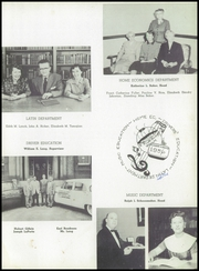 Page 17, 1956 Edition, Medford High School - Blue and White Yearbook (Medford, MA) online yearbook collection