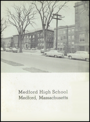 Page 7, 1956 Edition, Medford High School - Blue and White Yearbook (Medford, MA) online yearbook collection