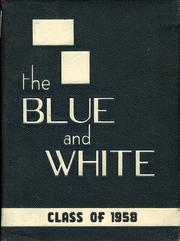 1958 Edition, Medford High School - Blue and White Yearbook (Medford, MA)