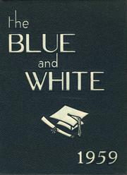 1959 Edition, Medford High School - Blue and White Yearbook (Medford, MA)