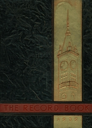 1939 Edition, Durfee High School - Durfee Record Yearbook (Fall River, MA)