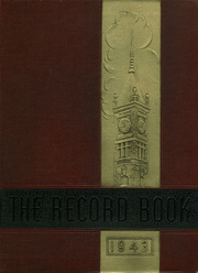 1943 Edition, Durfee High School - Durfee Record Yearbook (Fall River, MA)