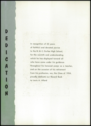 Page 6, 1954 Edition, Durfee High School - Durfee Record Yearbook (Fall River, MA) online yearbook collection