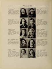 Page 58, 1940 Edition, Waltham High School - Mirror Yearbook (Waltham, MA) online yearbook collection