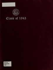 Page 1, 1943 Edition, Waltham High School - Mirror Yearbook (Waltham, MA) online yearbook collection