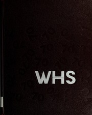1970 Edition, Waltham High School - Mirror Yearbook (Waltham, MA)