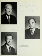 Page 11, 1971 Edition, Waltham High School - Mirror Yearbook (Waltham, MA) online yearbook collection