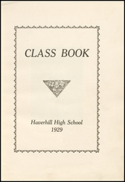 Page 7, 1929 Edition, Haverhill High School - Thinker Yearbook (Haverhill, MA) online yearbook collection