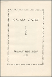 Page 7, 1930 Edition, Haverhill High School - Thinker Yearbook (Haverhill, MA) online yearbook collection