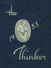 Page 1, 1953 Edition, Haverhill High School - Thinker Yearbook (Haverhill, MA) online yearbook collection