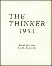 Page 7, 1953 Edition, Haverhill High School - Thinker Yearbook (Haverhill, MA) online yearbook collection