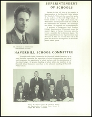 Page 16, 1955 Edition, Haverhill High School - Thinker Yearbook (Haverhill, MA) online yearbook collection