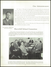Page 14, 1956 Edition, Haverhill High School - Thinker Yearbook (Haverhill, MA) online yearbook collection