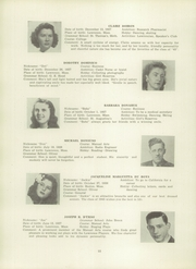 Page 36, 1945 Edition, Lawrence High School - Blue and White Yearbook (Lawrence, MA) online yearbook collection