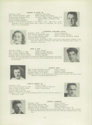 Page 37, 1945 Edition, Lawrence High School - Blue and White Yearbook (Lawrence, MA) online yearbook collection